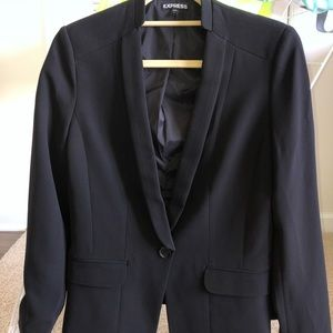 Express suit jacket/Collarless/like new
